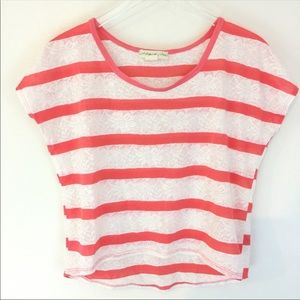 Staring at Stars Striped Top XS Urban Outfitters